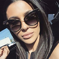 Feidu 2016 de alta calidad de la manera mujeres cat eye sunglasses diseñador de la marca retro gafas de sol de conducción gafas gafas de sol femenino