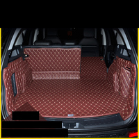 lsrtw2017 fiber leather car trunk mat for rang rover discovery sport 2014 2015 2016 2017 2018