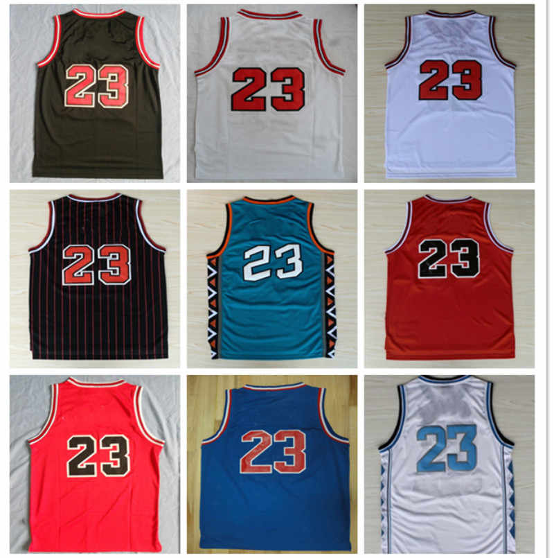 the best attitude f56d4 49722 Top Quality 23 Retro Basketball Jersey Uniforms Sports Basketball Shirts  Stitched Men and Kids Size