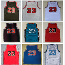 fd624eb28 Top Quality 23 Retro Basketball Jersey Uniforms Sports Basketball Shirts  Stitched Men and Kids Size(