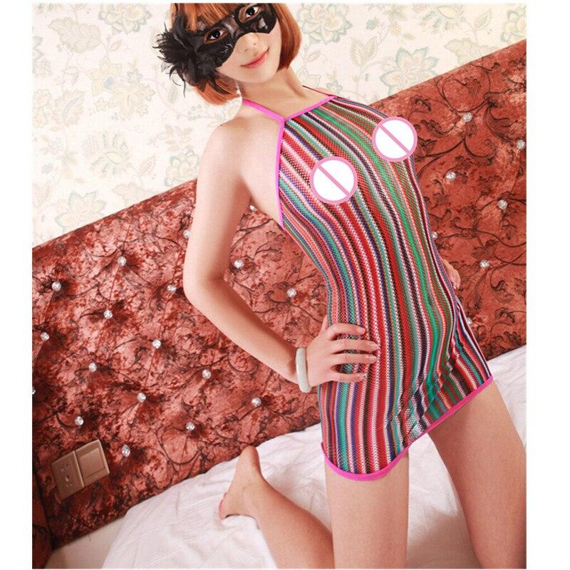 Hot Sexy Lace Fishnet Langerie Sexiga Underkläder Sexiga Kostymer Underkläder Erotic Intimates Sleepwear Women