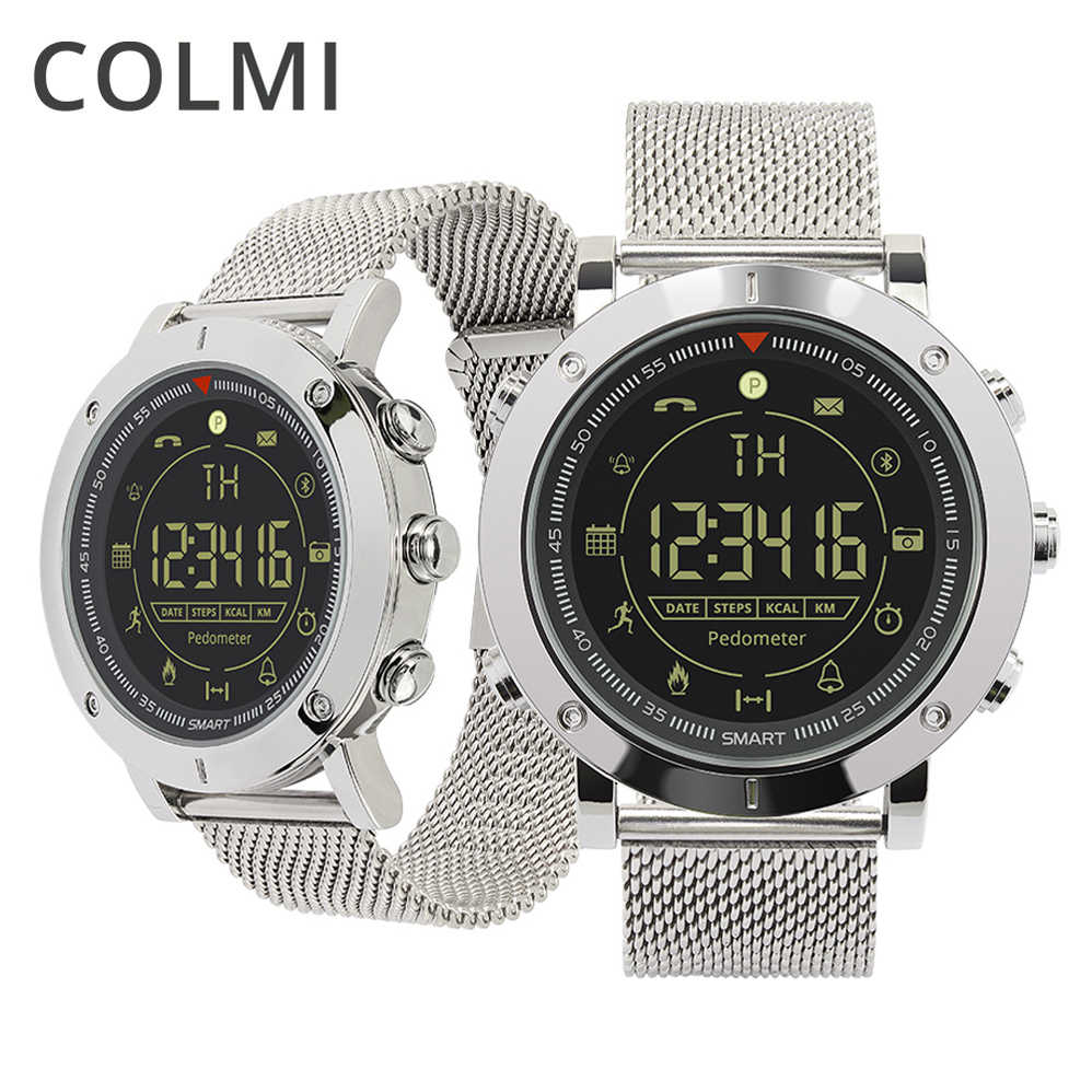 d75e66d9812 Colmi Sport Smart Watch EX19 Professional Waterproof 5ATM Passometer Like  Smart Bracelet Ultra-long Standby