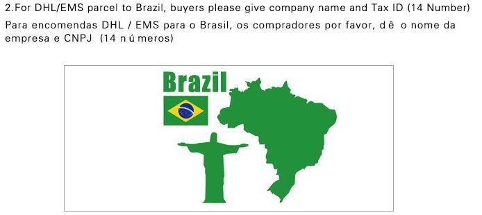 to brazil