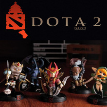 WOW DOTA 2 Game Figure Kunkka Lina Pudge Queen Tidehunter CM FV PVC Actiefiguren Collectie dota2 Toys