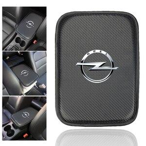 Image 1 - Alfombrilla protectora para compartimento de reposabrazos de coche, accesorios para OPEL, Insignia para Corsa, Astra, Antara, Meriva, Zafira