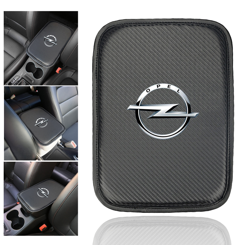 Car Console Box Armrest Pad Protective Mat Cover for OPEL Corsa Insignia Astra Antara Meriva Zafira Auto Accessories-in Car Tax Disc Holders from Automobiles & Motorcycles