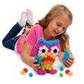 400 unids/set ensamblar del rompecabezas 3d diy bola esponjosa de exprimido bola creativa bola espina racimos hechos a mano juguetes educativos regalos de los niños