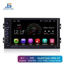 JDASTON Android 9,1 Автомобильный DVD плеер для peugeot 308/308 s 2013 2014 2015 2016 2017 gps навигации 1Din автомобиль радио Мультимедиа Стерео