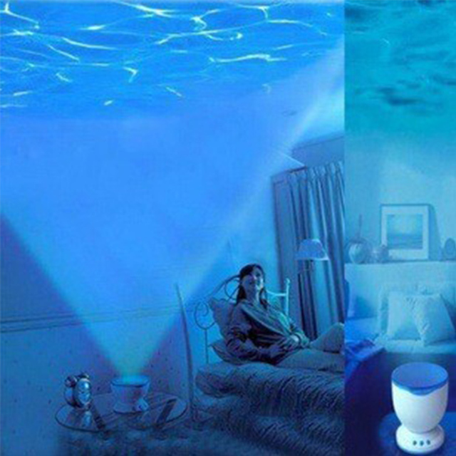 Aliexpress.com : Buy 1 Piece Night Light Projector Ocean Blue Sea ...