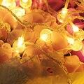 Holiday Освещения 2 М 20 Светодиодов Красочные Батарейках Лампы Строка Огни Рождественские Гирлянды Украшения Партии Фея LED Шар Света