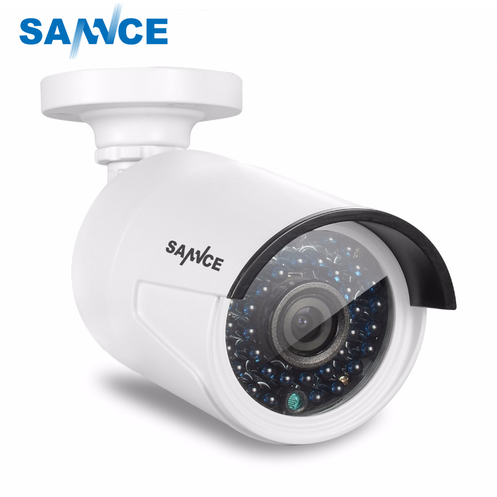 SANNCE 1080P IP Network Security Camera ONVIF Indoor and outdoor 2.0MP Surveillance Camera for POE NVR CCTV system