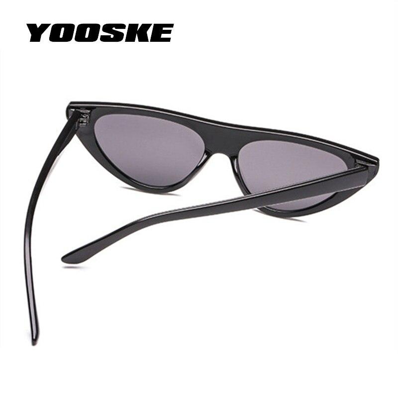 4e0ec5eabf08 ... Small Designer Shade Triangle Eyeglasses Vintage Cateye Sun Glasses  Female UV400. שמור מוצר. הגדל תמונה במעבר עכבר הקש פעמיים להגדלה. Black.  Black