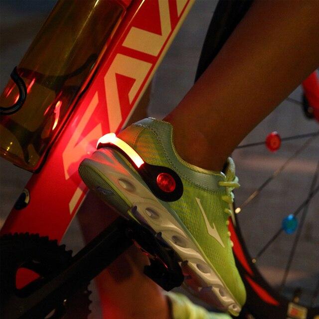 SAVA бег огни красочные Cyling свет велосипедный Charagable велосипед огни запястье ремень свет концерт Велоспорт фонарик