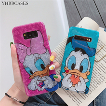 YHBBCASES Fashion Conch Shell Soft Cover For Samsung Note 10 8 9 Cartoon Mickey Donald Cases Galaxy S8 S9 S10 Plus