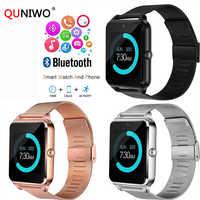 Reloj inteligente GT08 para hombres con llamada telefónica Bluetooth 2G GSM SIM TF cámara de tarjeta Smartwatch Android reloj inteligente PK DZ09 reloj