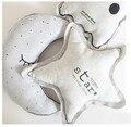 Творческий Серебристых Детские Светящиеся Игрушки Луна Гений Звезд Легче Подушки для Детей Местный Номер Кукла Подушки Детские подушки