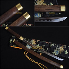 Free Sword Bag 100 Real Hand Forged 1095 T10 Spring Steel Japanese Samurai Katana Sharpened Warrior