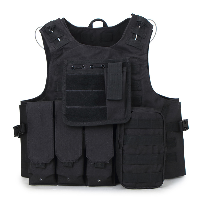 Military Molle Tactical Vest Special Forces Combat Camo Equipment Vest Paintball CS Waistcoat Camouflage 1000D Oxford Uniform