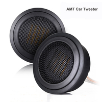 1 Pair High End Car Tweeter Speaker 15W AMT Air Motion Transformer Raw Speaker Tweeter For