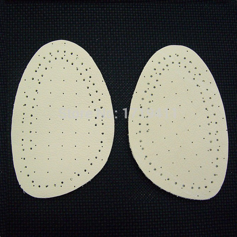 50 Pairs Cow Leather Gel Silicone Shoe pad Insoles women's high heel Cushion Protect Comfy Feet Palm Care Pads 2 pairs gel silicone shoe pad insoles women s high heel cushion protect comfy feet palm care pads accessories