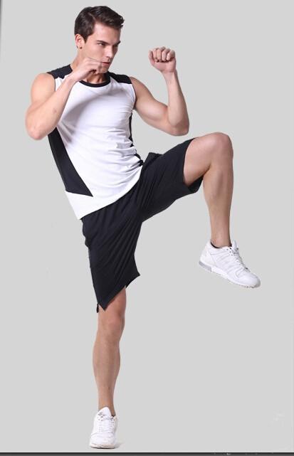 7e6d5b421a5b New Road Iraqi Vatican Workout clothes Men s Fitness vest fitness ...