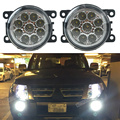 Car-styling 6000K 12V DRL Fog Lamps Lighting LED Lights 9W /1 SET For Mitsubishi L200 OUTLANDER 2 PAJERO 4 GALANT Grandis
