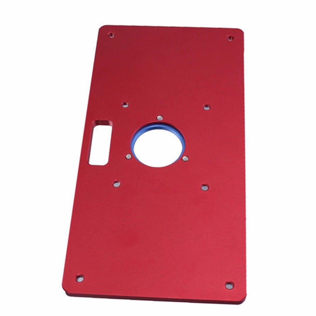 Plaque d'insertion universelle de Table de routeur de haute qualité pour bricolage - 3