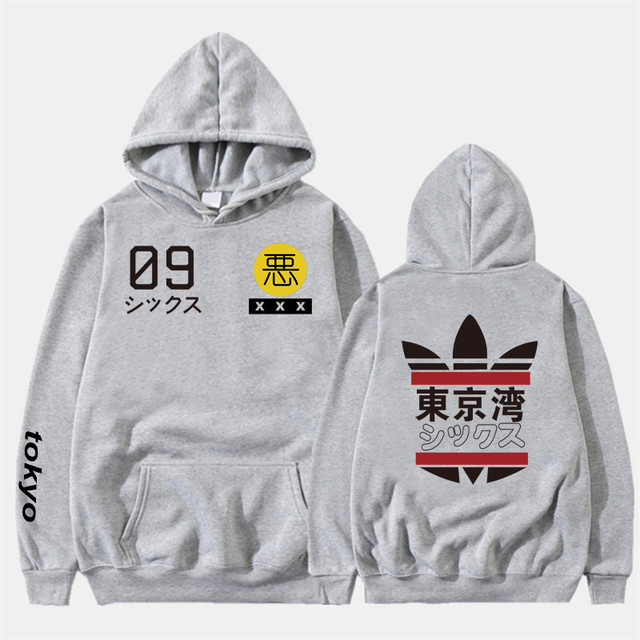 2019 New Men Women Hoodies harajuku Spring Sweatshirts Tokyo Bay Hoodies outwear Fashion Rubber powder Hip-Hop boys Clothes  3