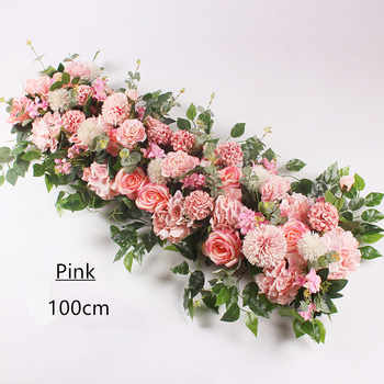 Angela flower Artificial & Dried Flowers Pink