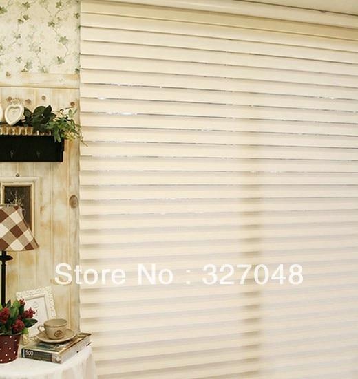Manual shangri-la blind triple shade venetian blinds zebra blinds roller shutter roller blind