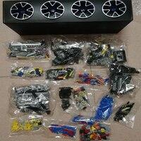20086 дизайн серии bugatti Хирон синий гоночный автомобиль модель строительные блоки комплект Классические игрушки для детей подарки на Рождест