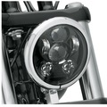 "5.75"" 5-3/4"" Motorcycle Projector 45W Osra-m LED Lamp Headlight For Harley Sportster,  Iron 883,  Dyna, Street Bob FXDB"