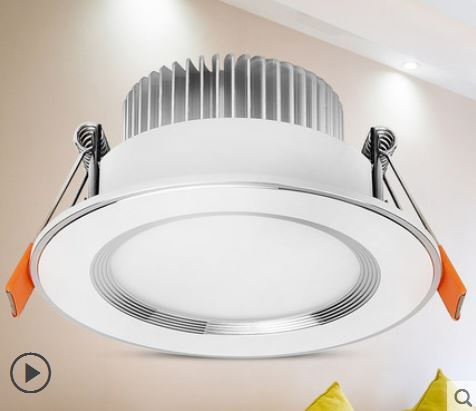 Downlight led living room ceiling lamp ceiling embedded hole lamp 3w5w cat eye cow eye lamp hole lamp