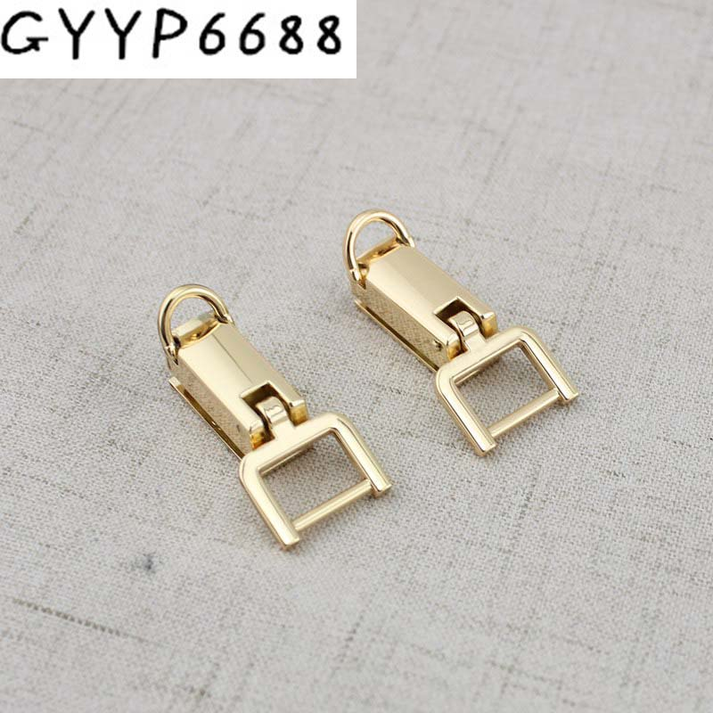 2pairs Luggage Hardware Accessories On Both Sides Of The Bag On The Screw  D Ring Female Package Metal Parts Hanger Connector