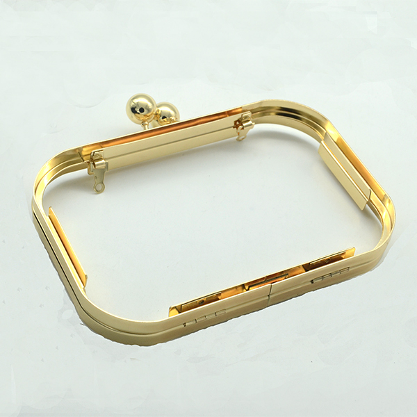 Gold clutch frame Box clutch frame Box purse frame box bag frame 16 ...