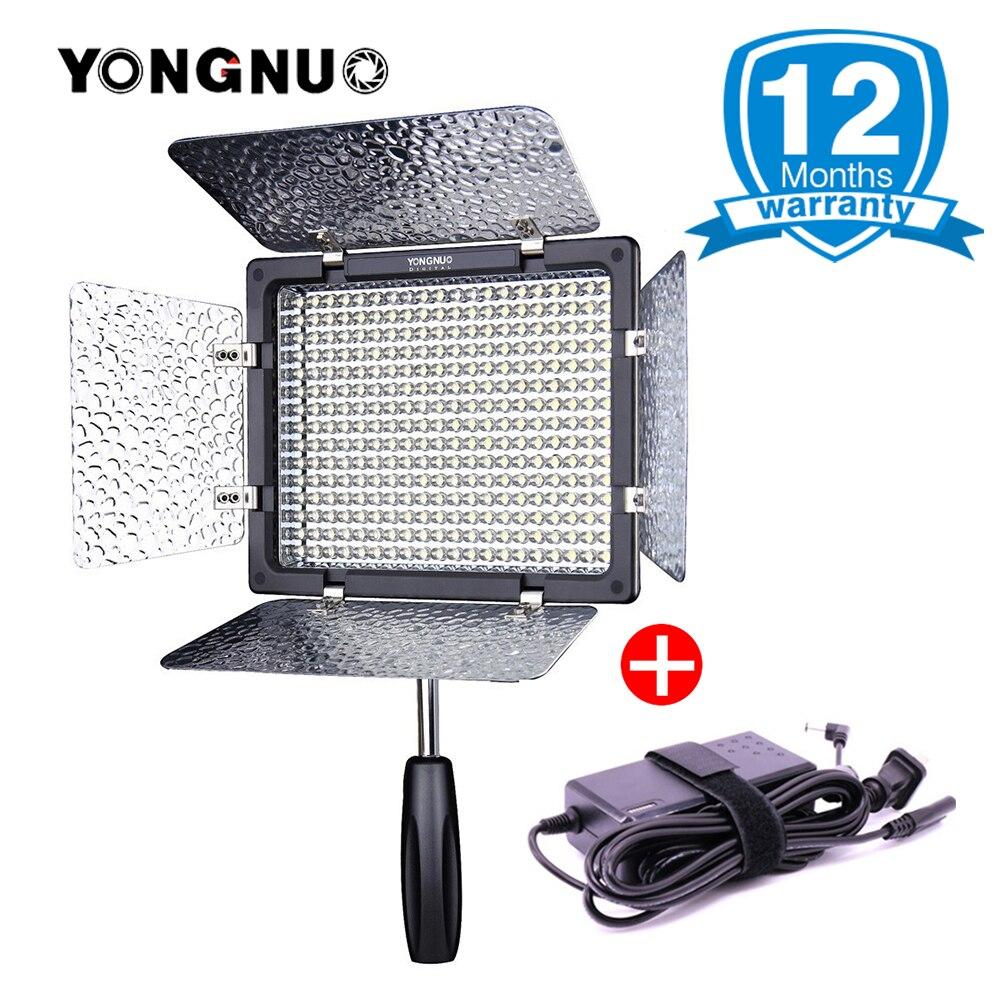 Yongnuo YN300 III YN300III YN-300 lIl 3200K-5500K CRI95 Camera Photo LED Video Light w AC Power Adapter Studio Light Wedding