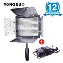 Yongnuo YN-300 YN300 III YN300III lIl 3200 K-5500 K Câmera Fotográfica LED Luz de Vídeo w CRI95 AC Poder adaptador de Luz de Estúdio de Casamento
