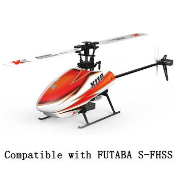 XK K110 Blast 6CH Brushless 3D6G System 3D Aerobatics Hovering Flight 6Axis Gyro Toys Gift RC Helicopter BNF