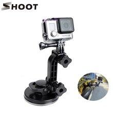 Снимать лобового стекла присоски присоске для GoPro Hero 5 4 3 Hero5 сеанса SJCAM SJ4000 H9 Xiaomi Yi 4 К Go Pro аксессуар