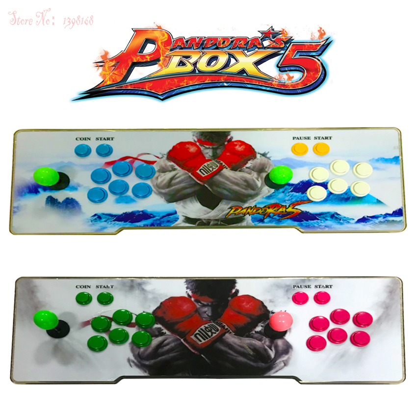 Pandora box 5 960 in 1 arcade control kit joystick usb buttons zero delay 2 players HDMI VGA arcade console controller TV PC e27 25w ac220v 240v 98pcs 5730smd warm white led corn light