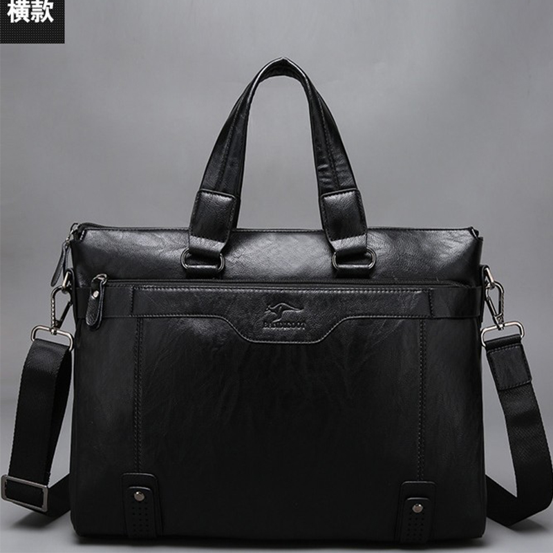 Business New Fashion Genuine Cow Leather Men Bag Brand Shoulder Bag Messenger Bags Causal Handbag Laptop Briefcase Male Free Bag low back disorders in heavy jobs and their control
