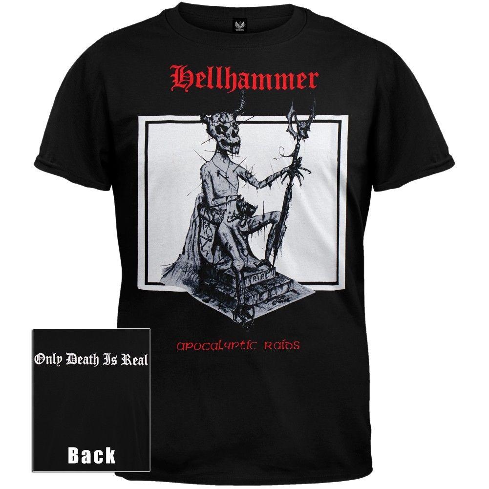 Возьмите хэллхаммер красный логотип Апокалипсическое рейды рубашка MD, LG, XL Новый