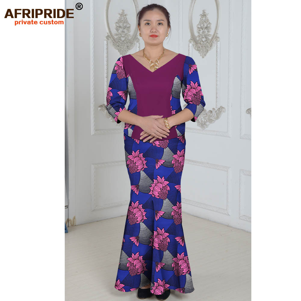 Vêtements africains costume deux pièces costume d'été princesse - Vêtements nationaux - Photo 3