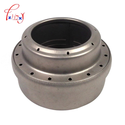 Mini Liquid Alcohol Stove Ultralight Portable Titanium Stove 70ml Titanium Alcohol Stove for Outdoor Camping Hiking courtyard