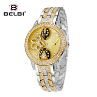 AAA Relogio Masculion Gold Diamond Role Mens Watches Top Brand Luxury Clock Male lovers Wristwatch Women Quartz Steel Business