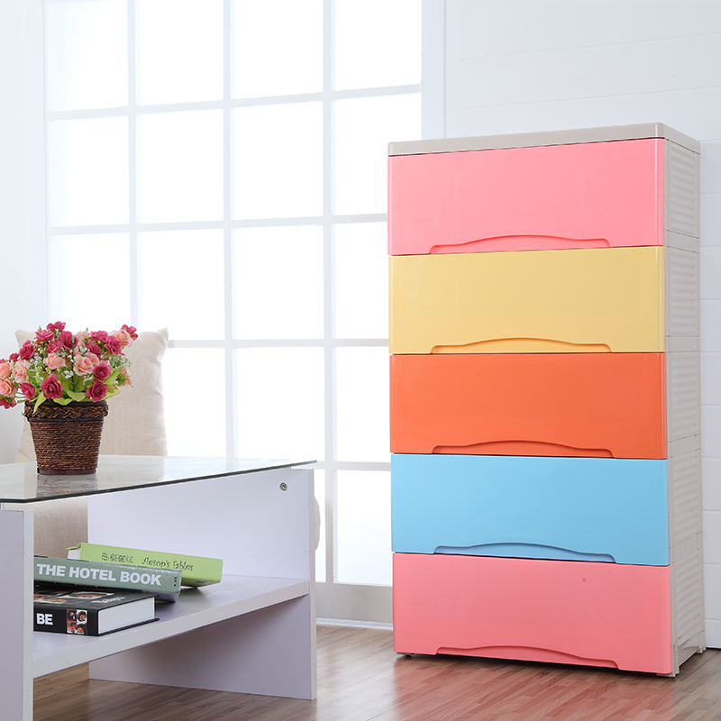 Large Drawer Storage Cabinets Lockers Baby Wardrobe Chest Of Drawers For Kids Multilayer Plastic Toys Finishing In Baskets From Home