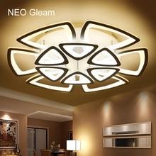 Luces de Araña de techo para la sala de estar dormitorio minimalista Moderno led AC 85-265 V lámpara de Araña Decorativa Casera Libre gratis