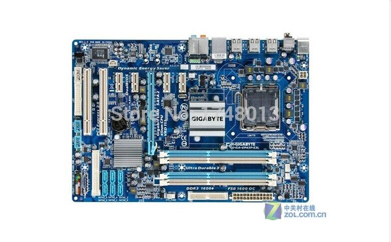 D'origine Carte Mère pour Gigabyte GA-EP43T-S3L EP43T-S3L DDR3 LGA 775 De Bureau carte mère Livraison gratuite