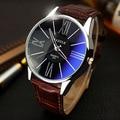 Mens relógios top marca de luxo 2016 relógio YAZOLE homens cinto de negócios de moda relógio de quartzo-minimalista Coreano assista relogio masculino