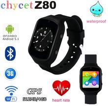 Z80 bluetooth smart watch android 5.1 nano sim gps/agps wifi sos WCDMA 3G Netzwerk Smartwatch Für Android IOS Smartphone PK Q18